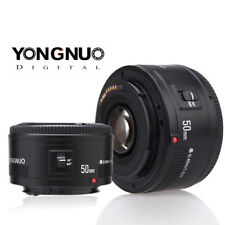 Yongnuo EF 50mm F/1.8 Auto Focus AF/MF Standard Prime Lens for Canon EOS Camera