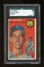 1954 Topps Set Break #201 - Al Kaline RC SGC 40 VG 3