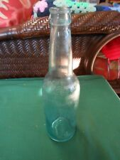 Great Vintage BLUE Beer Bottle ANHEUSER BUSCH  Signed AB   S.6.