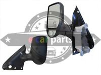 FORD TRANSIT VH/VJ 11/00-08/06 NEW DOOR MIRROR LEFT HAND SIDE ELECTRIC BLACK