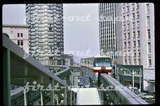 Original Slide - Seattle WA ALWEG Monorail Scene October 1970