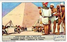 6 Cards c1947 The Hisory of Egypt Cheops Pyramid Nile Hyksos Ramses II Cleopatra