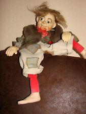 Marionette Spielpuppe 58 cm   Handarbeit ohne Schnüre   Lustiger Geselle
