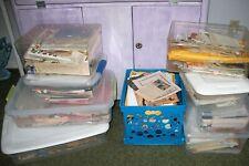 Junk Journal Ephemera 50 Piece Lot Authentic Vintage & Antique Paper Goods Pages