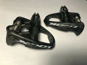 Look KEO carbon pedals w/ Chromoly spindles - includes cleats and hardware