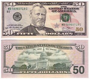 USA - 50 Dollars 2013 (New York) - Federal Reserve Paper Money P 542 - UNC