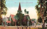 Postcard Trinity Church San Jose California