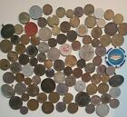 U.s+%26+World+Coin+CULL+LOT+Some+Silver+Coins+%26+Tokens+DAMAGED+COINS+collections