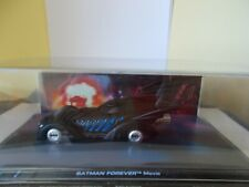 Eaglemoss Batman Car from Batman Forever' Movie On Plinth in Case - New Unopened