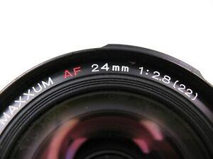 Minolta AF 24mm Lens (AS IS)