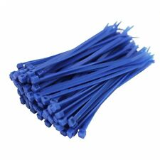 Cable Ties 2.5mm x 100mm Nylon Tie-Wrap Blue  !! Pack of 100 units !!