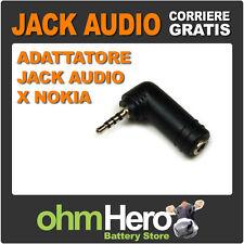 Adattatore Jack Audio da 2,5mmA Jack 3,5mm X Nokia