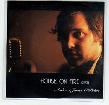 (EF645) Andrew James O'Brien, House On Fire - 2013 DJ CD