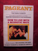 PAGEANT September 1971 DAVID STEINBERG FROST RAQUEL WELCH CLARE BOOTH LUCE +++