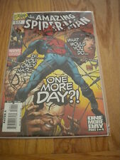 DF Marvel Amazing Spider-Man Issue 544 Signed Remarked 22/199