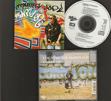 COUNTRY Joe McDONALD CARRY ON 10 track CD 1994 LINE Records