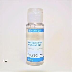 MURAD EXFOLIATING ACNE TREATMENT GEL 1 FL.OZ