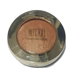 Milani Multi Purpose Baked Bronzer # 05 Soleil Brush Mirror Makeup Compact