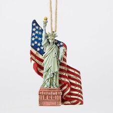 Statue Of Liberty Ornament Jim Shore USA Americana 4th of July