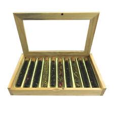 Test Tube Gift Set Box 10 Flavor Teas Fresh Loose Leaf For tea Lovers Healthy