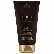 NEW Schwarzkopf BC Bonacure Oil Miracle Gold Shimmer Conditioner 150ml FREE P&P