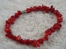 Red Coral Bracelet (A38)