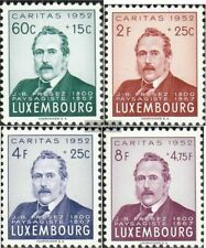 Luxembourg 501-504 (complete issue) with hinge 1952 Caritas