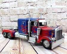 Vintage Hand Made Transformer Autobots Optimus Prime Truck Bar Decor Metal Model
