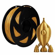 3D Drucker Filament 1kg PLA 1,75mm ⌀ Durchmesser Spule Rolle 2.2lb Gold Kit Part