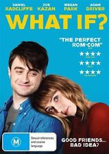 What If (DVD, 2015) * Daniel Radcliffe * Brand New
