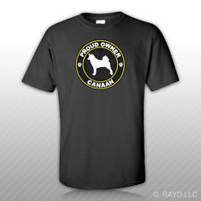 Proud Owner Canaan T-Shirt Tee Shirt Free Sticker dog canine pet