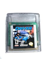 Driver NINTENDO GAMEBOY COLOR Game Tested + Working & AUTHENTIC! VG!