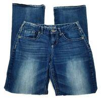 Maurices Curvy Bootcut Mid Rise Stretch Denim Jeans Women's Size 5/6 Dark Wash