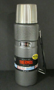 Genuine Thermos® Vacuum Insulated Metal Thermos 40 oz Wide Mouth See Description