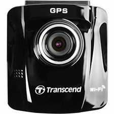 Transcend DrivePro 220 1080p HD GPS Car Dashboard Video Recorder With Adhesive