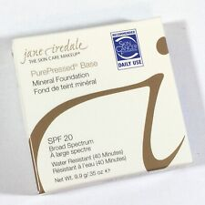 Jane Iredale PurePressed Base Mineral Foundation .35 oz Shade LIGHT BEIGE (J8G)