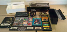 Sinclair ZX Spectrum Bundle - 17x Games, TV & Cassette Cables, Carry Case, Box