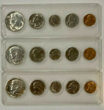 3 Mint Sets 1965 1966 1969 Uncirculated Coins in Whitman Holder