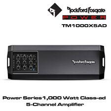 Rockford Fosgate T1000X5AD - Power Series 1000 Watt Class-ad 5-Channel Amplifer
