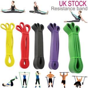 Heavy Duty Resistance Bands Fitness Assisted Pull Up Band Power Lifting Exercise