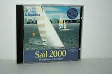 SAIL 2000 IL SIMULATORE DI REGATA USATO OTTIMO PC CD ROM VER ITALIANA GB1 33071