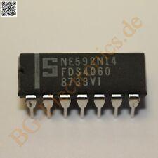 2 x NE592N14 Video Amplifier Signetics DIP-14 2pcs
