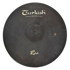 "TURKISH CYMBALS Becken 21"" Ride Rock RawDark bekken cymbale cymbal 3230g"