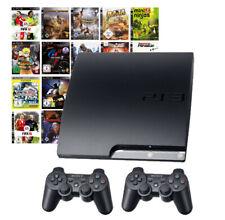 PlayStation 3/ps3 consolas set con 3-10 juegos y 1-2 Sony Controller