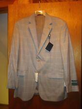 Ralph Lauren Wool Oatmeal Sport Coat Blazer 38 Reg NWT $350