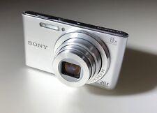 Sony Cyber-Shot SteadyShot DSC-W830 20.1MP Camera - Silver