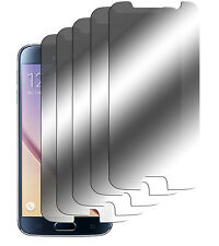 5 x Spiegelfolie Samsung Galaxy S6 Displayschutz Folie Mirror Screen Protector