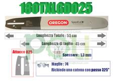 BARRA OREGON SPEED CUT 180TXLGD025 45 CM PASSO.325 SPESSORE 1,3mm 74 MAGLIE