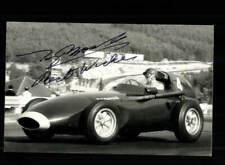 Tony Brooks Autogrammkarte Original Signiert Formel 1