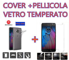 COVER + PELLICOLA VETRO TEMPERATO PER MOTOROLA MOTO G5 CUSTODIA CASE + GLASS